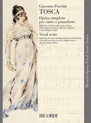 Giacomo Puccini: Tosca - Opera Vocal Score