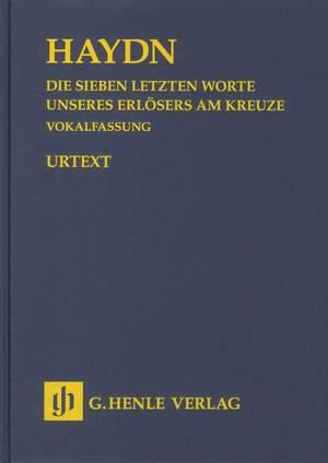 Haydn, J: The Seven Last Words of Christ  Hob. XX/1B