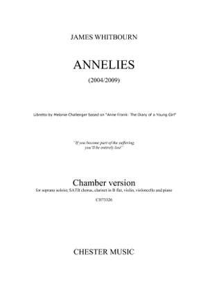 James Whitbourn: Annelies (Chamber Version)