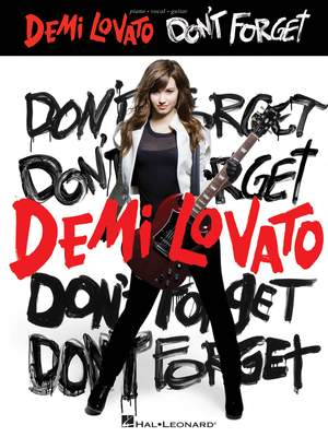 Demi Lovato: Don't Forget Product Image