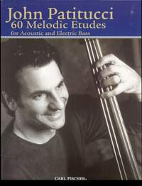 John Patitucci: 60 Melodic Etudes