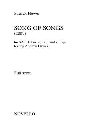 Patrick Hawes: Song Of Songs (Full Score) Product Image