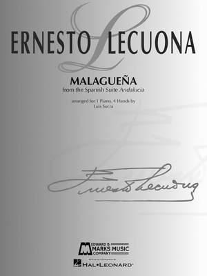 Ernesto Lecuona: Malaguena