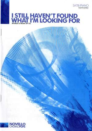 U2: I Still Haven't Found What I'm Looking For Product Image