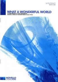 Bob Thiele_George David Weiss_Louis Armstrong: What A Wonderful World (SATB/Piano)