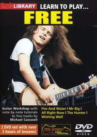 Paul Kossoff: Learn To Play Free