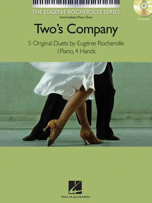 Eugénie Rocherolle: Two's Company - Five Original Duets (Book/CD)