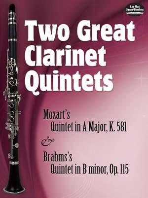 Johannes Brahms: Two Great Clarinet Quintets