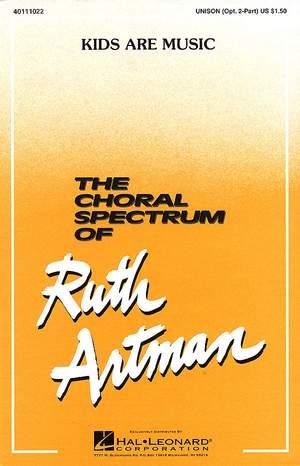 Ruth Artman: Kids Are Music