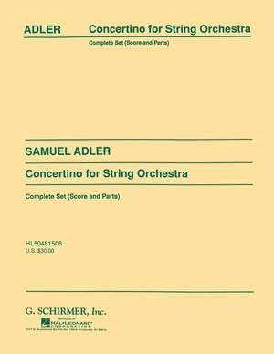 S. Adler: Concertino