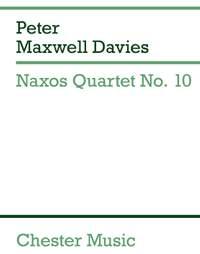 Peter Maxwell Davies: Naxos Quartet No.10 (Miniature Score)