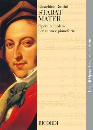 Gioachino Rossini: Stabat Mater - Vocal Score
