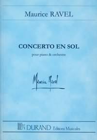 Maurice Ravel: Concerto En Sol Pour Piano Et Orchestra