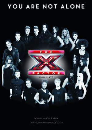 Michael Jackson_Oscar Hammerstein II_R. Kelly: X Factor Finalists: You Are Not Alone Product Image
