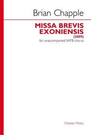 Brian Chapple: Missa Brevis Exoniensis