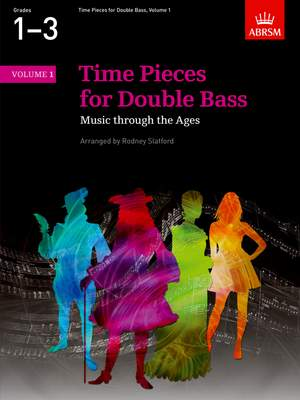 Rodney Slatford: Time Pieces for Double Bass, Volume 1 Product Image