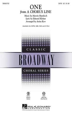 Edward Kleban_Marvin Hamlisch: One (from: A Chorus Line)