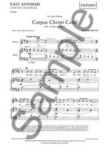 Benjamin Britten: Corpus Christi Carol Product Image