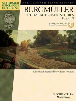 Friedrich Burgmüller: 18 Characteristic Studies, Op. 109