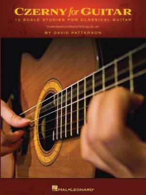 Carl Czerny: Czerny For Guitar - 12 Scale Studies