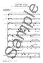 Eric Whitacre: Sleep My Child Product Image
