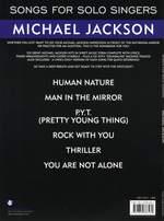 Michael Jackson: Songs For Solo Singers: Michael Jackson Product Image