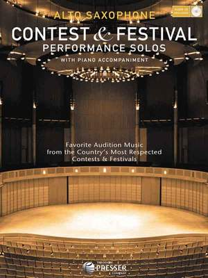 Contest and Festival Performance Solos