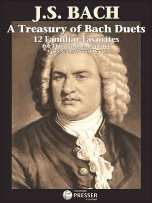 Johann Sebastian Bach: A Treasury Of Bach Duets