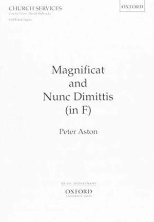 Aston: Magnificat and Nunc Dimittis (in F)