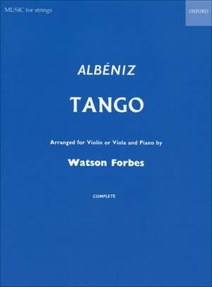 Albeniz: Tango