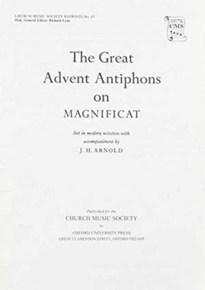 Anon: The Great Advent Antiphons on Magnificat