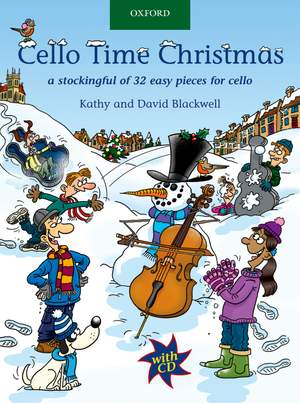 Cello Time Christmas + CD
