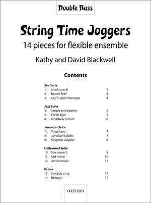 Blackwell: String Time Joggers Double Bass part