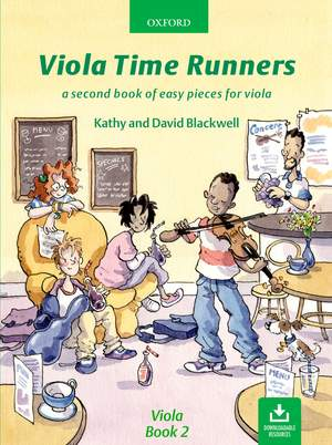Blackwell: Viola Time Runners (book + CD)