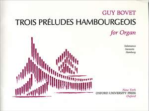 Bovet: Trois Preludes Hambourgeois