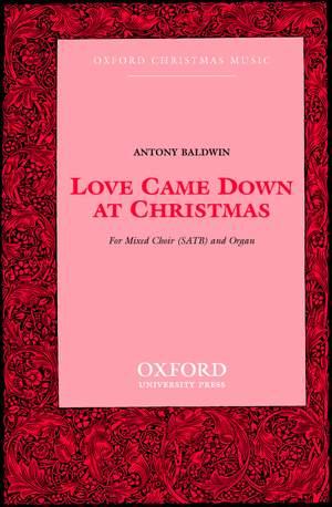 Baldwin: Love came down at Christmas