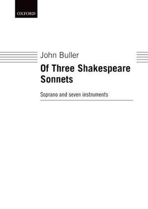 Buller: Of Three Shakespeare Sonnets