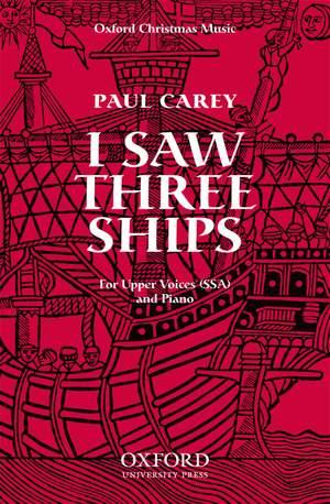 Carey: I saw three ships