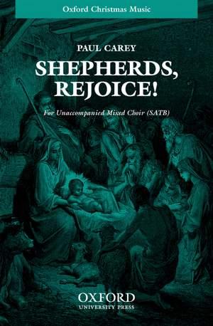 Carey: Shepherds, Rejoice!