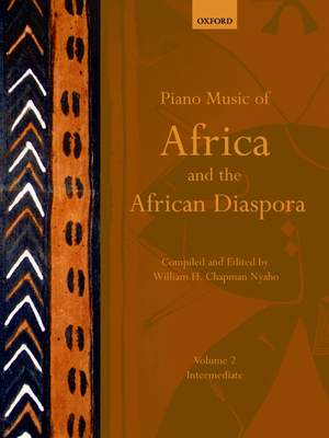 Nyaho, William H. Chapman: Piano Music of Africa and the African Diaspora Volume 2 Product Image