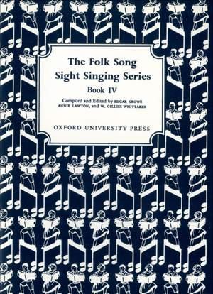 Crowe, Edgar: Folk Song Sight Singing Book 4