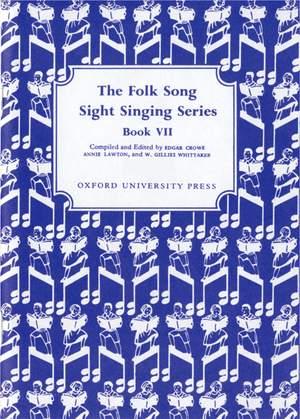 Whittaker: Folk Song Sight Singing Book 7