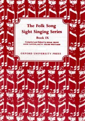 Crowe, Edgar: Folk Song Sight Singing Book 9