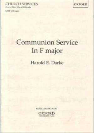Darke: Communion Service in F