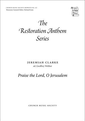Clarke: Praise the Lord, O Jerusalem