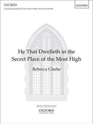 Clarke: He that dwelleth in the secret place of the Most High