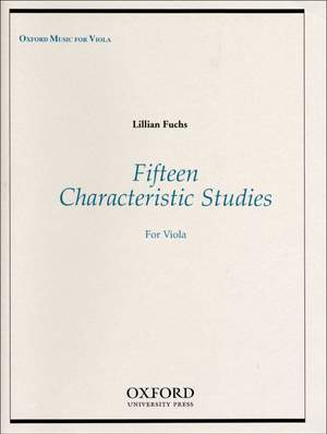 Fuchs: Fifteen Characteristic Studies for Viola