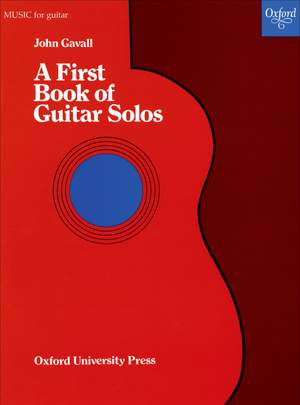 Gavall: A First Book of Guitar Solos