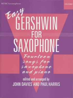 Gershwin, George: Easy Gershwin for Saxophone