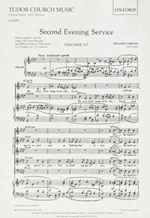 Gibbons: Second Evening Service (Magnificat and Nunc Dimittis)